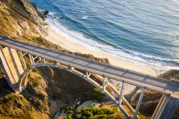 Bixby Bridge in Monterey County California:スマホ壁紙(壁紙.com)