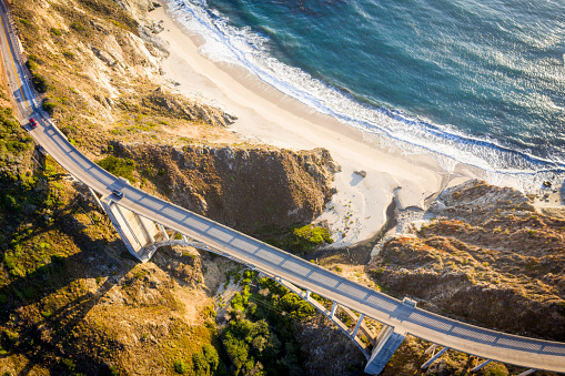 Big Sur「Bixby Bridge in Monterey County California」:スマホ壁紙(10)