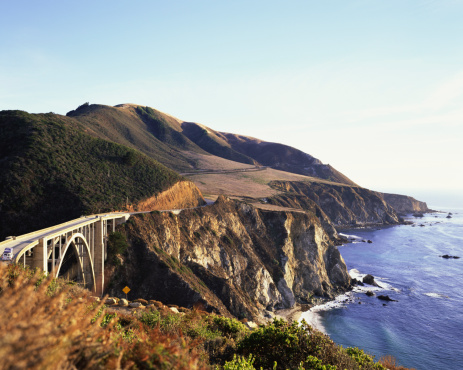 Big Sur「Bixby Bridge at Big Sur, California」:スマホ壁紙(12)