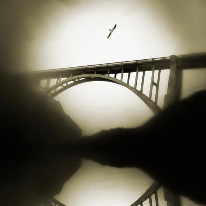 Bixby Creek Bridge「Bixby bridge, toned image」:スマホ壁紙(17)