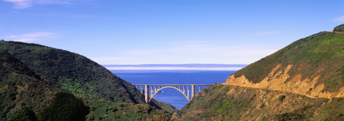 Big Sur「Bixby Bridge」:スマホ壁紙(5)