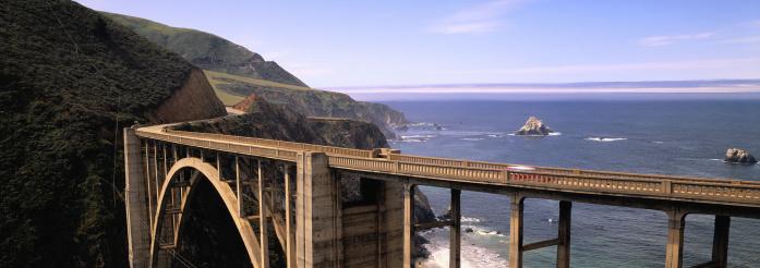 Big Sur「Bixby Bridge」:スマホ壁紙(3)