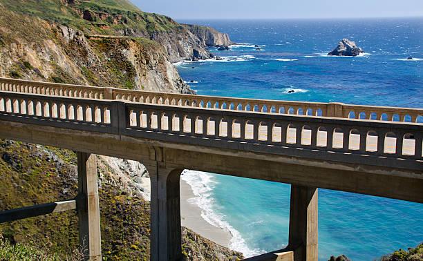 Bixby Bridge in Big Sur:スマホ壁紙(壁紙.com)