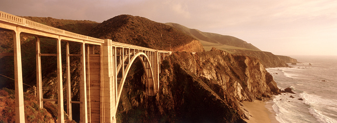Bixby Creek Bridge「Bixby Bridge in Big Sur」:スマホ壁紙(19)