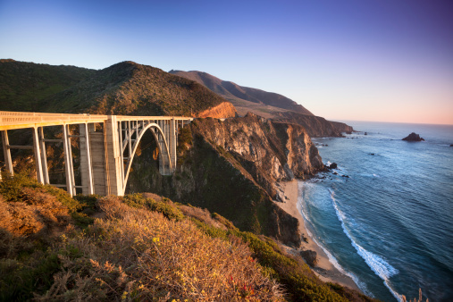 Big Sur「Bixby Bridge, Big Sur, California, USA」:スマホ壁紙(4)