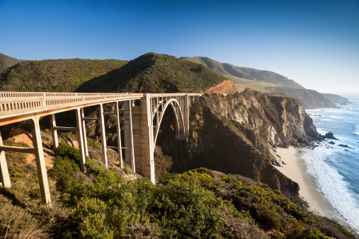 Bixby Creek「Bixby Bridge, Big Sur, California, USA」:スマホ壁紙(14)