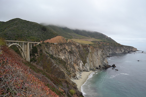 Bixby Creek Bridge「Bixby Bridge, Big Sur, California, USA」:スマホ壁紙(15)
