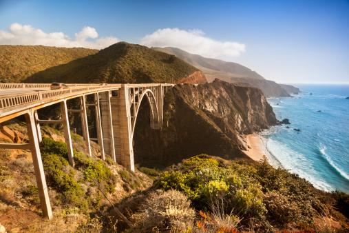 Bixby Creek Bridge「Bixby Bridge, Big Sur, California, USA」:スマホ壁紙(6)