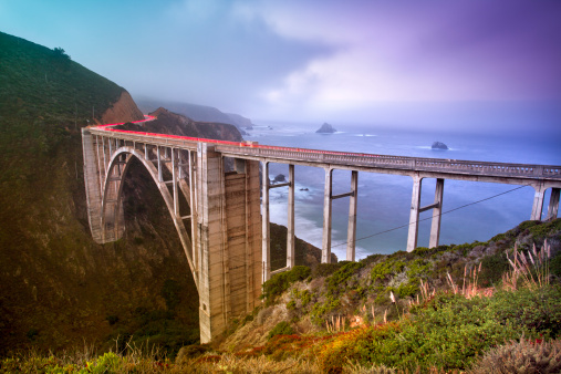Bixby Creek Bridge「Bixby Bridge, Big Sur, California, USA」:スマホ壁紙(11)