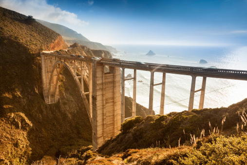 Big Sur「Bixby Bridge, Big Sur, California, USA」:スマホ壁紙(4)