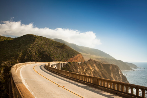 California State Route 1「Bixby Bridge, Big Sur, California, USA」:スマホ壁紙(1)