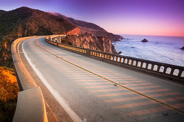 Bixby Bridge, Big Sur, California, USA:スマホ壁紙(壁紙.com)