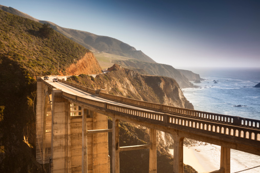 Big Sur「Bixby Bridge, Big Sur, California, USA」:スマホ壁紙(17)