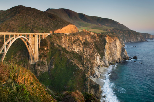 Big Sur「Bixby Bridge Big Sur California」:スマホ壁紙(15)