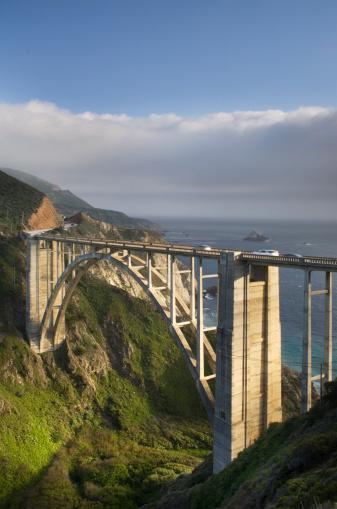 Bixby Creek Bridge「Bixby Bridge Big Sur California」:スマホ壁紙(4)