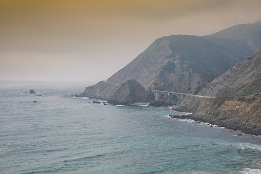 Bixby Creek Bridge「Bixby Bridge, Big Sur California」:スマホ壁紙(8)