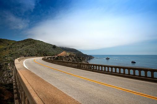 Big Sur「Bixby Bridge  on Highway 1」:スマホ壁紙(8)