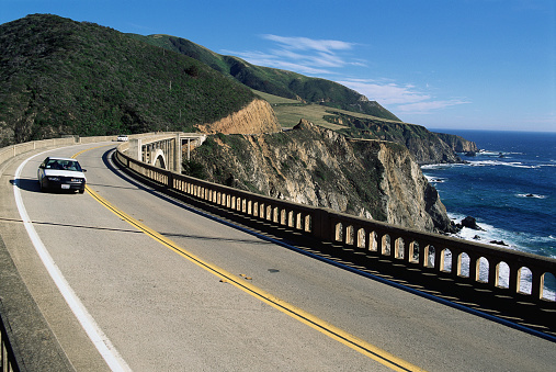 Bixby Creek Bridge「Bixby Bridge on the Cabrillo Highway」:スマホ壁紙(4)