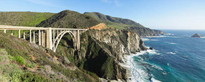 Big Sur「Bixby Bridge - Big Sur」:スマホ壁紙(8)