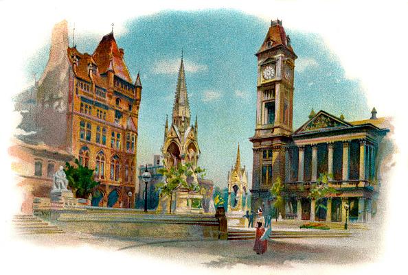 1900「Chamberlain Square, Birmingham」:写真・画像(11)[壁紙.com]