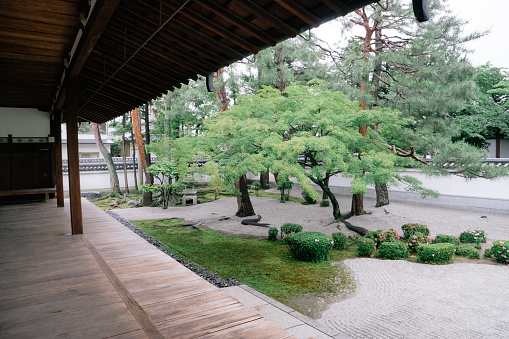 Ornamental Garden「Buddhist temple garden view」:スマホ壁紙(8)