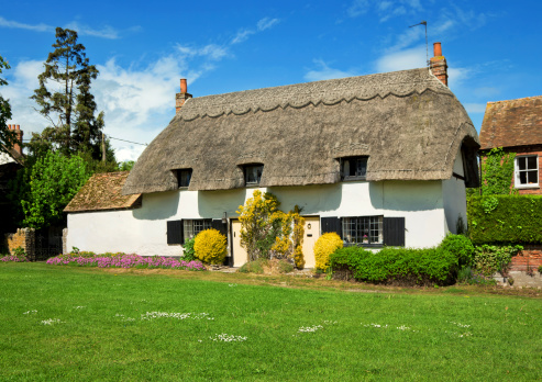 Thatched Roof「English Country Cottage」:スマホ壁紙(4)