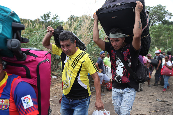 Refugee「Colombian Border Towns See Influx Of Venezuelans Crossing Amid Country's Political Turmoil」:写真・画像(6)[壁紙.com]