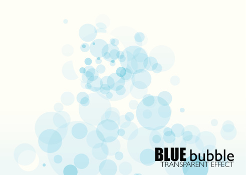 Vector「light blue bubble background with transparent effect and copyspace」:スマホ壁紙(13)