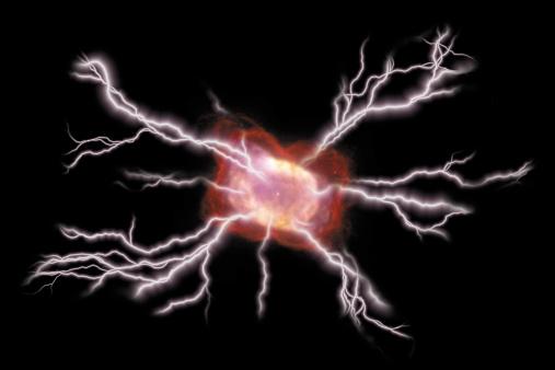 Aura「Composite of lightning bolts emanating from void」:スマホ壁紙(16)