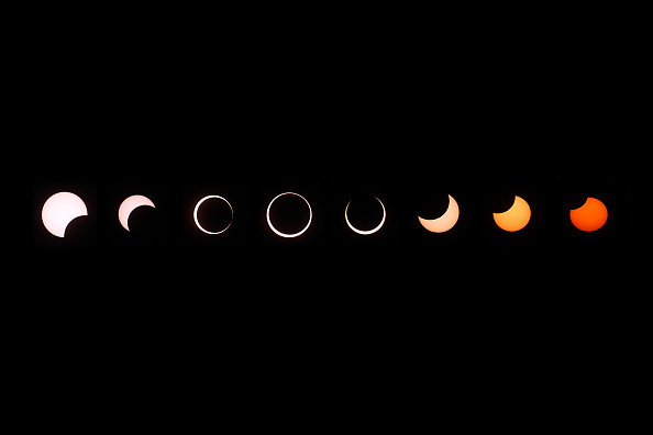 Annular Solar Eclipse「Annular Solar Eclipse Observed In California」:写真・画像(2)[壁紙.com]