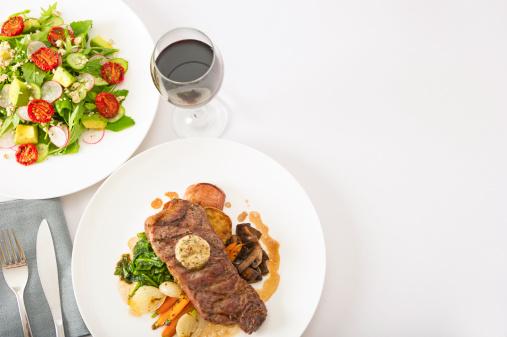 Herb Sauce「Steak and Salad」:スマホ壁紙(5)