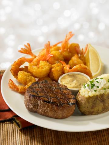 Baked Potato「Steak and Shrimp Dinner」:スマホ壁紙(12)