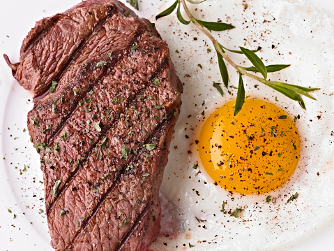 Pepper - Seasoning「Steak and sunny side up egg with seasoning」:スマホ壁紙(13)