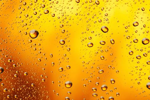 Coke「Water drops background」:スマホ壁紙(5)