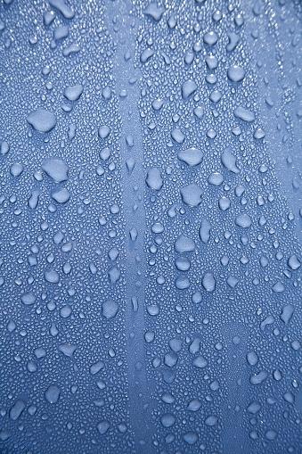 Car Wash「Water drops on a polished blue motorhood」:スマホ壁紙(17)