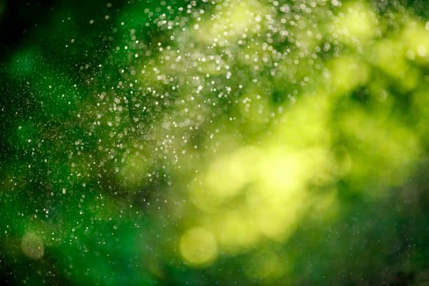Water drops of lawn sprinkler:スマホ壁紙(壁紙.com)