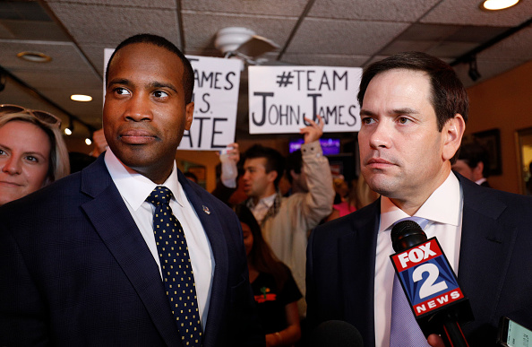 Michigan「Marco Rubio Campaigns With GOP Senate Candidate John James In Detroit」:写真・画像(13)[壁紙.com]