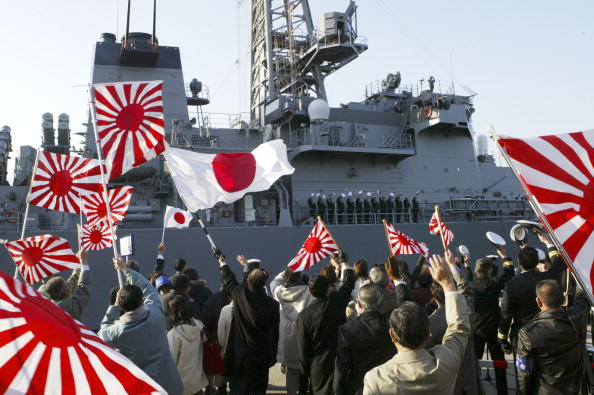 Hokkaido「Maritime Self-Defence Force ship Is Scheduled To Leave For Kuwait.」:写真・画像(17)[壁紙.com]
