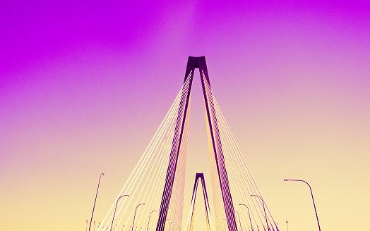Charleston - South Carolina「Symmetry of a bridge」:スマホ壁紙(19)