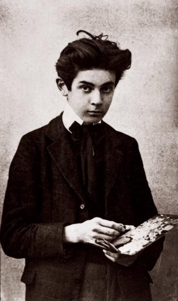 Artist's Palette「Egon Schiele as Student」:写真・画像(7)[壁紙.com]