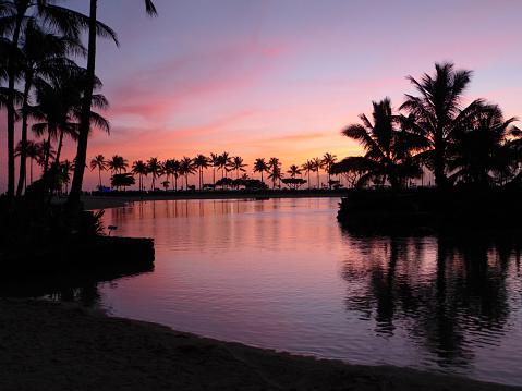 オアフ島「Honolulu, Hawaii, USA」:スマホ壁紙(6)