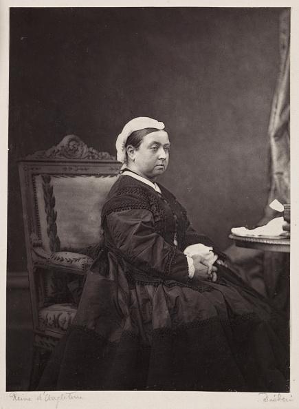 Mourning「Queen Victoria, c 1870.」:写真・画像(0)[壁紙.com]