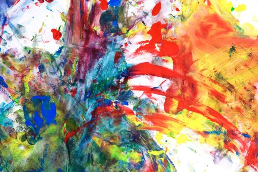 アート「お子様のテンペラ Paint on Paper」:スマホ壁紙(3)