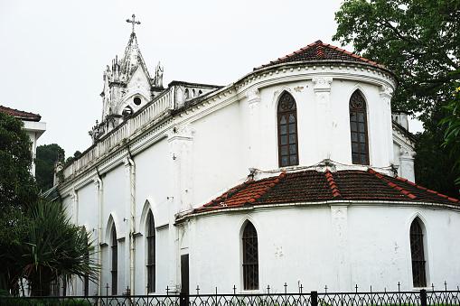 Clock「Church,Gulangyu Island,Xiamen,Fujian,China」:スマホ壁紙(10)