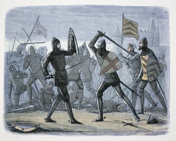 Calais「The Siege Of Calais France 1346-1347 (1864)」:写真・画像(4)[壁紙.com]