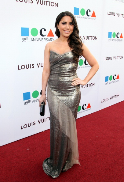Strapless Evening Gown「MOCA's 35th Anniversary Gala Presented By Louis Vuitton At The Geffen Contemporary At MOCA - Red Carpet」:写真・画像(4)[壁紙.com]