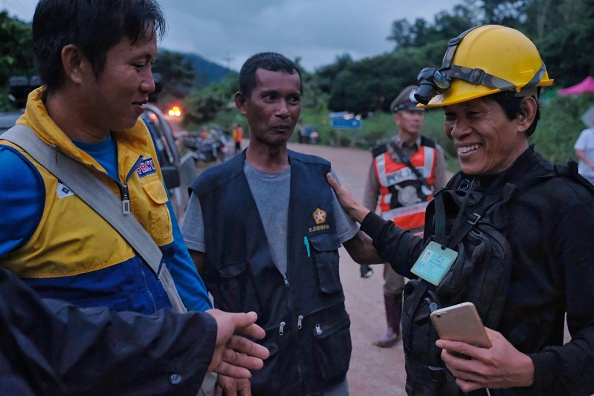 タイ王国「Thailand Cave Rescue For Trapped Soccer Team」:写真・画像(4)[壁紙.com]
