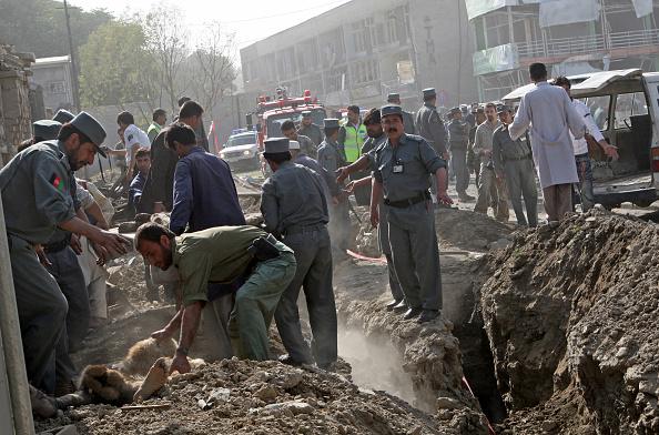 Kabul「Suicide Attack Targets Indian Embassy In Kabul Killing Twelve」:写真・画像(11)[壁紙.com]