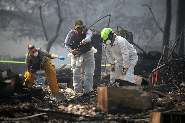Natural Disaster「California Town Of Paradise Devastated By The Camp Fire Continues Search And Recovery Efforts」:写真・画像(12)[壁紙.com]