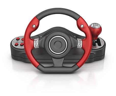 Clip Art「computer steering wheel」:スマホ壁紙(11)